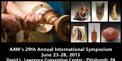 The AAW Symposium Spins Through The 'Burgh – Woodturners Rejoice!