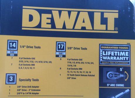 dewalt mechanics tool
