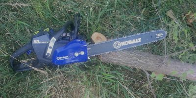 Kobalt 80v Cordless Chainsaw Review – Goodbye Volatile Liquids and Hello Lithium