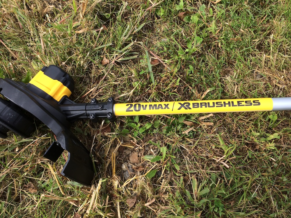 DeWalt DCST920P1 20V Max String Trimmer Trim The Grass Skip The Gas
