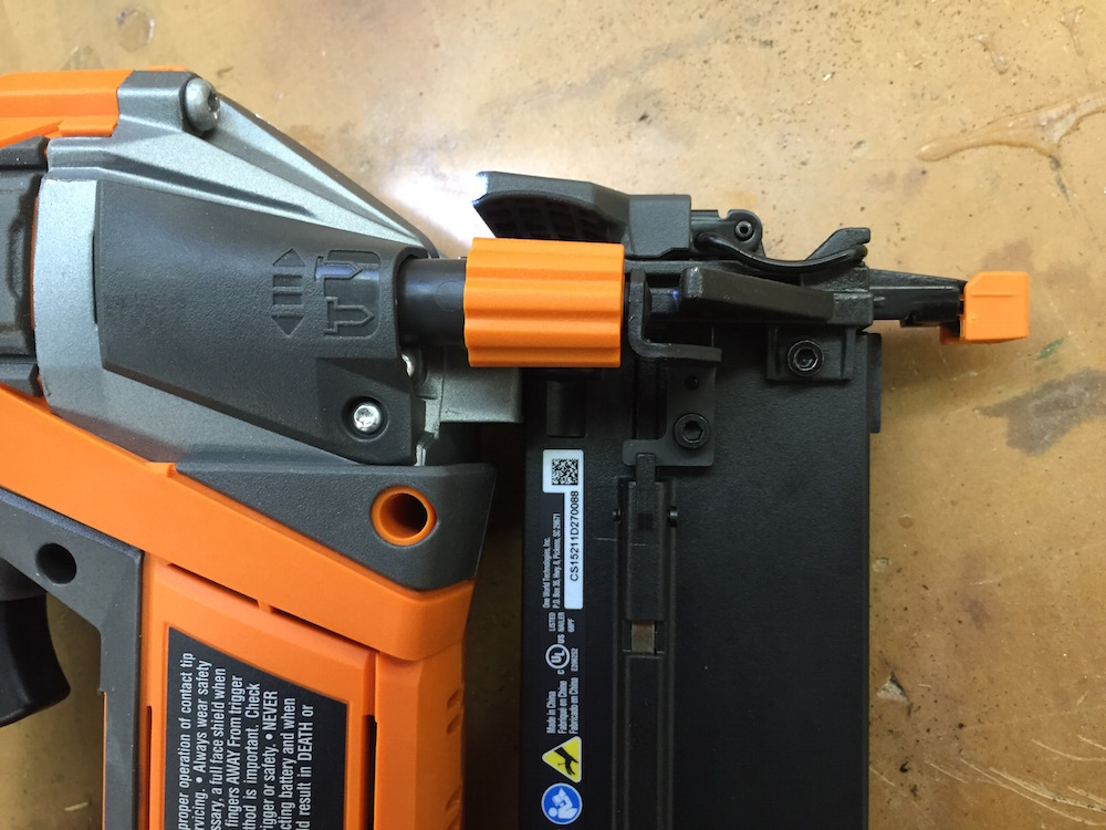 Hyperdrive nailers feature easy depth adjustment.