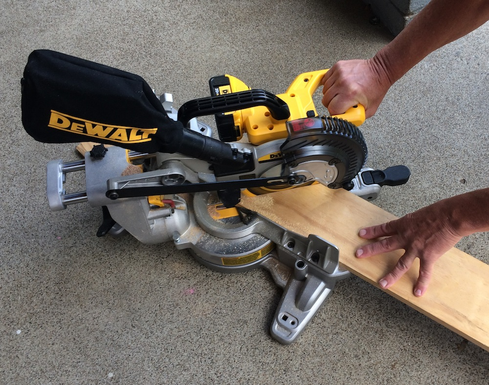 Can You Cut Laminate Flooring With A Chop Saw