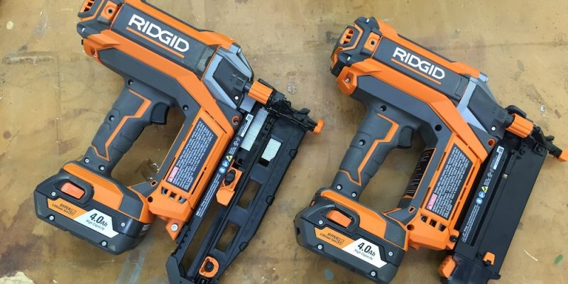 Nailed It! Ridgid HyperDrive Cordless Nailers