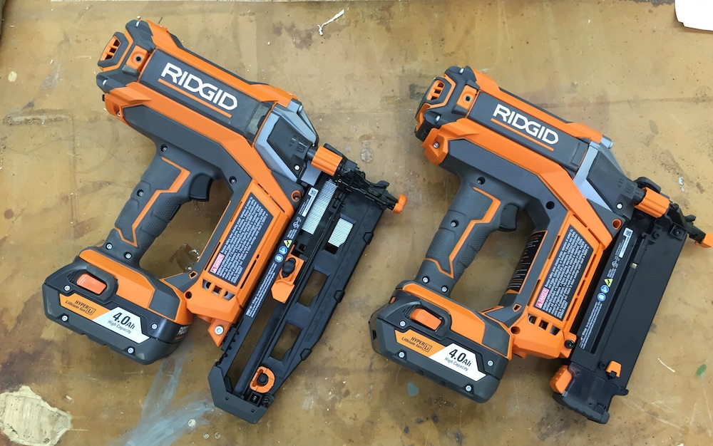 Nailed It Ridgid Hyperdrive Cordless Nailers Home Fixated