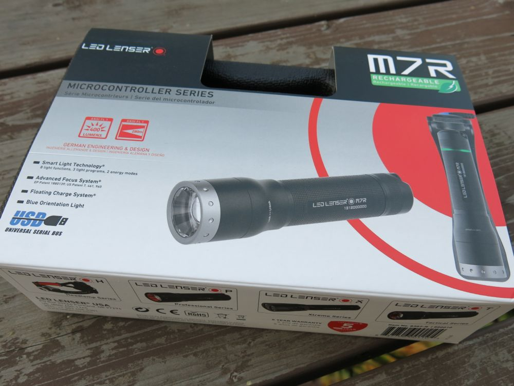 led lenser m7r flashlight review how smart is your flashlight home fixated. Black Bedroom Furniture Sets. Home Design Ideas