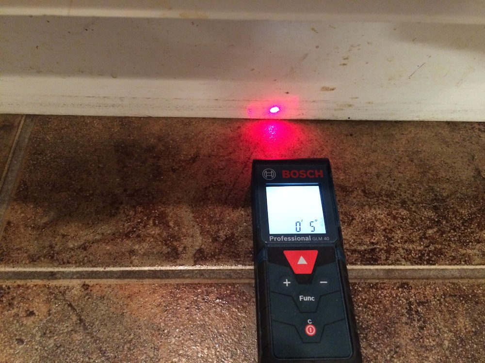 how to use stanley laser measure