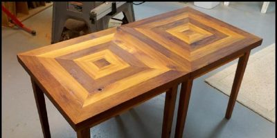 Cedar Side Tables – Your Crotch Will Thank You