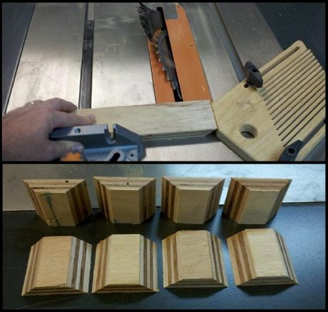Cutting Corner Blocks
