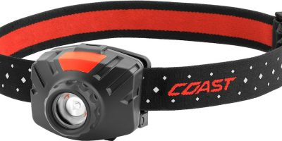 I See the Light! The Coast FL60 Wide Angle LED Headlamp