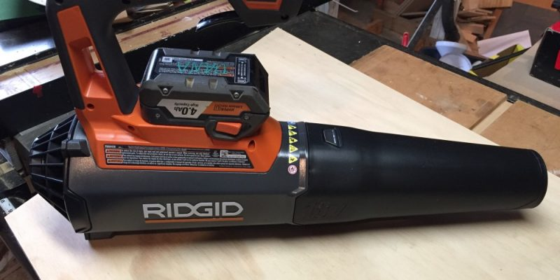 GEN5X 18-Volt Ridgid Jobsite Blower – This Little Sucker Really Blows