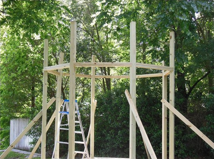 how to build your own gazebo
