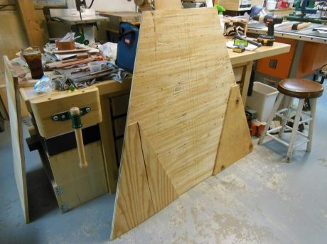 Roof sheathing pieces