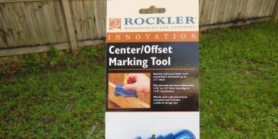 Rockler Center/Offset Marking Tool – Reviewed