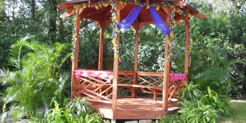 Gazebo how to build your own home fixated for Gazebo cost to build