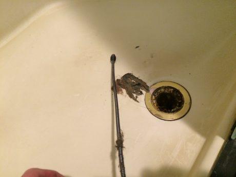 ryobi drain auger