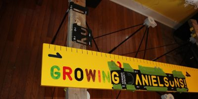 Wooden Growth Chart Project – Track Their Height With Style!