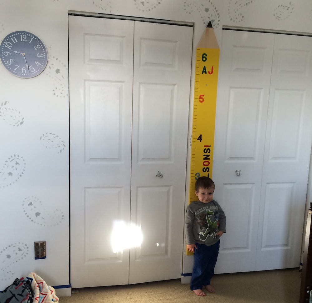 Wooden growth chart project track their height with style wooden growth chart geenschuldenfo Images
