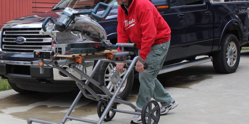 Ridgid Miter Saw Stand – An SUV For Your Chop Saw
