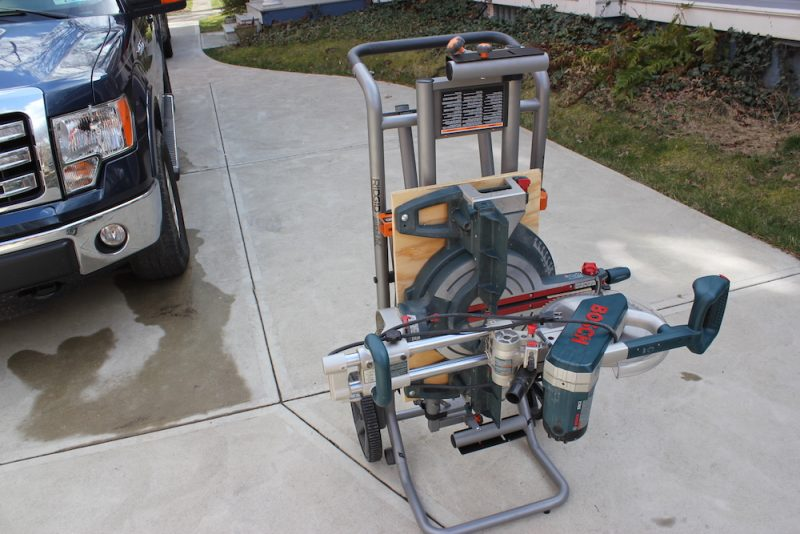 Ridgid Miter Saw Stand An Suv For Your Chop Saw Home