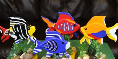 How To Make Angelfish Decor – I Swear It Was THIS Big
