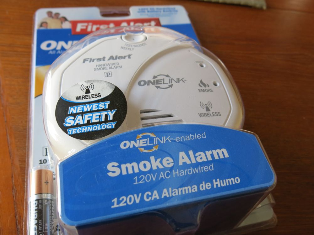 first alert onelink smoke detector options - First Alert Smoke Alarm