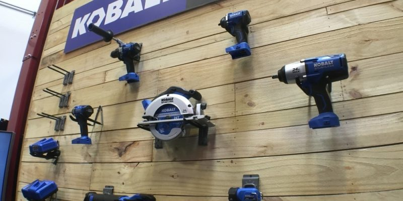 kobalt 24v max brushless power tools gunning for pro's at lowes