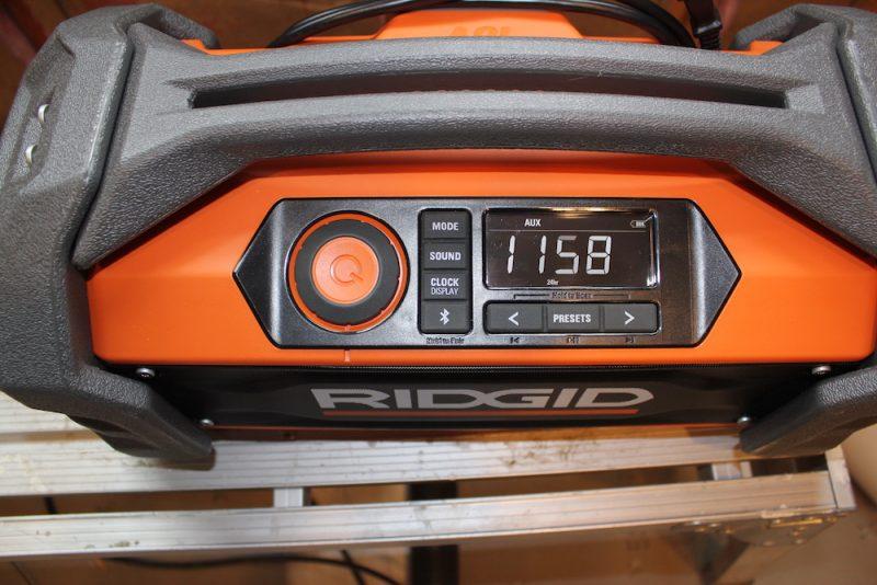 ridgid jobsite radio