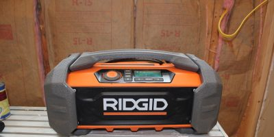 Ridgid Jobsite Radio GEN5X – Take Your Bluetooth Boombox To Work