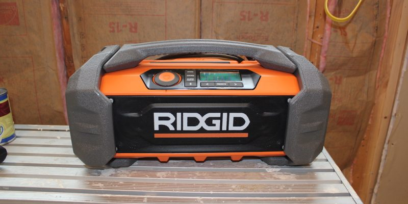Ridgid Jobsite Radio GEN5X – Take Your Bluetooth Boombox To Work