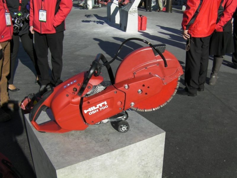 Hilti DSH 700-X demo saw