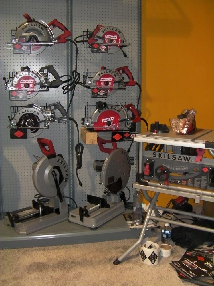 Skilsaw chop saws