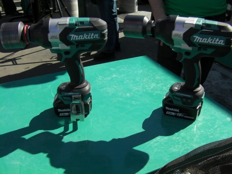 Makita XWT08 and XWT07 impact wrenches