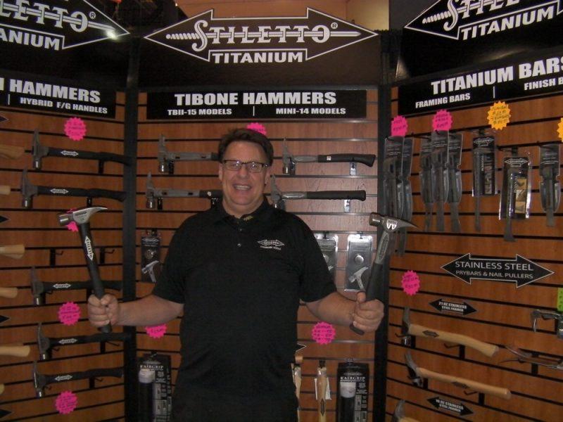 Stiletto framing hammers