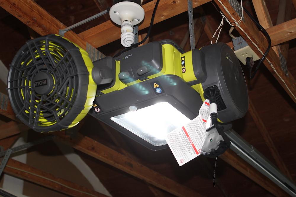 Ryobi Garage Door Opener Review Plug N Play In Your Garage