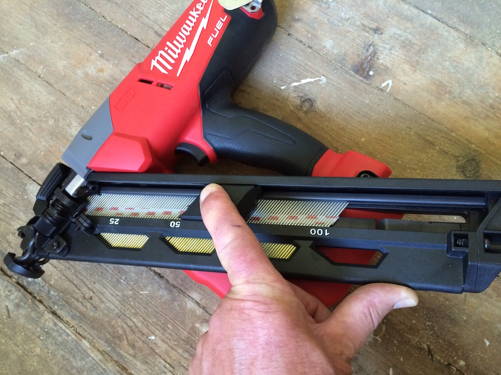 milwaukee cordless nailer