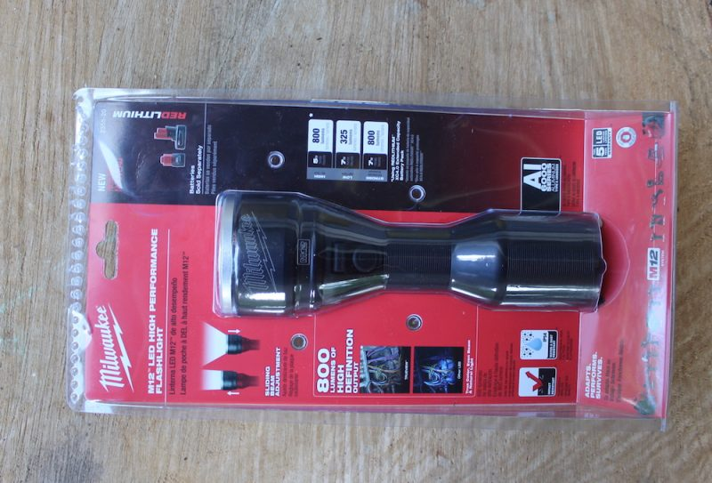 milwaukee led flashlight
