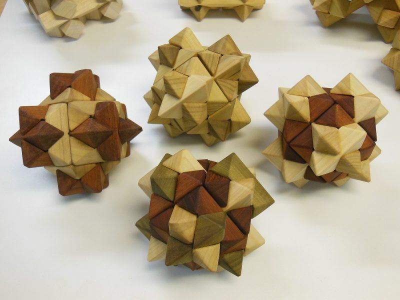 Starburst puzzles