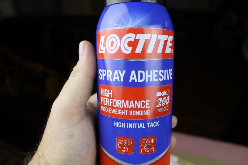 Spray glue