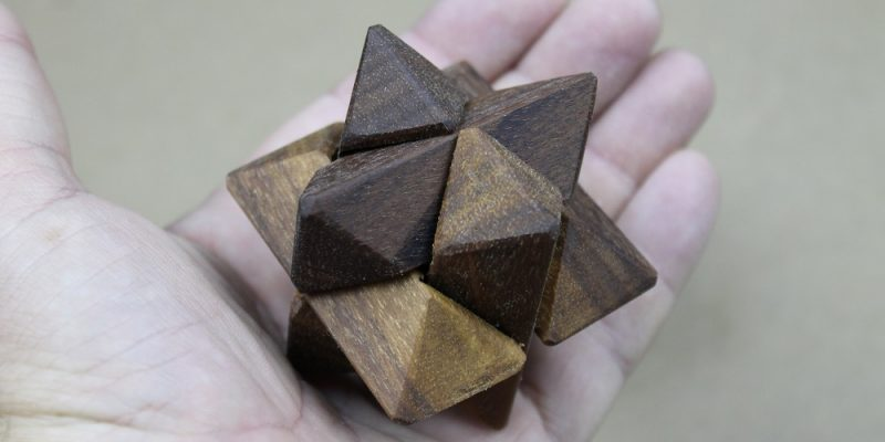 How To Make A Wooden Star Puzzle