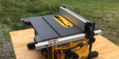 DeWalt FlexVolt Table Saw DCS7485T1 – Let 'er Rip With 60 Volts