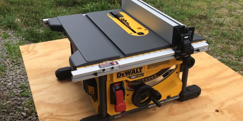 Dewalt flexvolt table saw dcs7485t1 let er rip with 60 volts dewalt flexvolt table saw dcs7485t1 let er rip with 60 volts greentooth