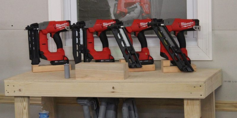 the milwaukee cordless nailer lineup is fast no spoolin
