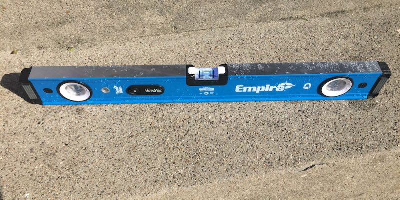Empire UltraView Level Review – LEDs Are A Bright Idea For Levels
