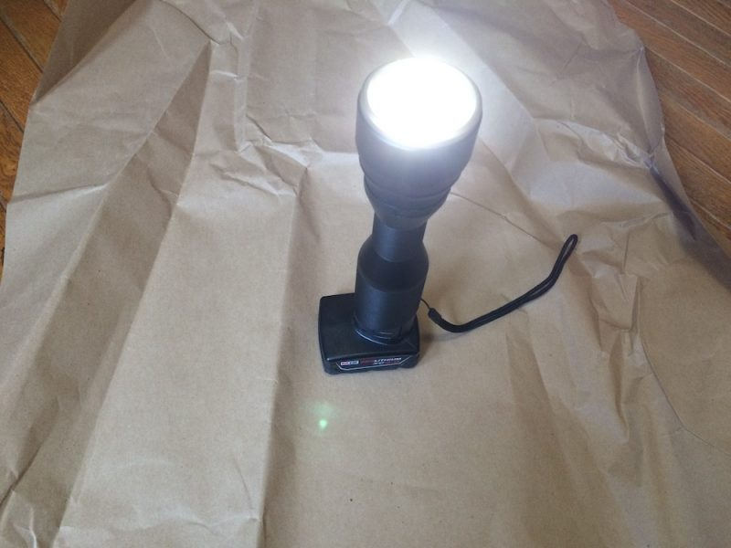 milwaukee led flashlight