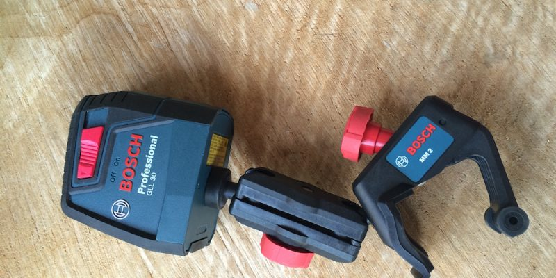 Bosch GLL 30 Self-leveling Laser – Crossing The Line