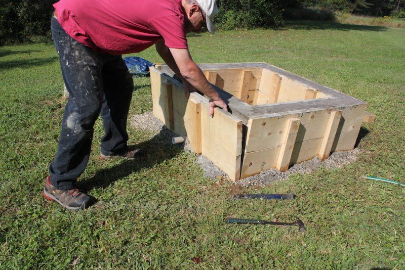 Concrete Fire Pit Diy Project Quikrete Makes It Easy Ish