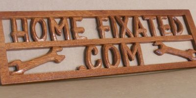 How To Easily Make A 3D Carved Wooden Sign – Without CNC!