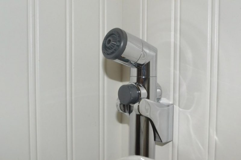 Installation of the Cleanspa bidet sprayer can clip onto the side of the tank, or be wall-mounted more directly