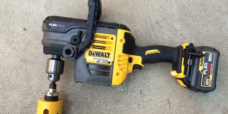 DeWalt FlexVolt Stud & Joist Drill DCD460 Makes Boring Less Boring