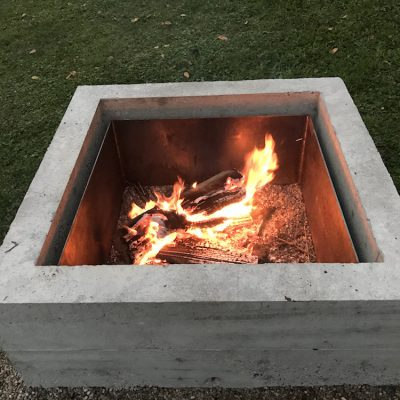 Concrete Fire Pit DIY Project – Quikrete Makes It Easy-ish
